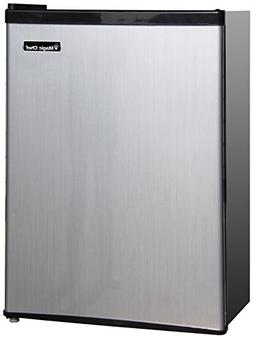 2.4 cu. ft, Stainless Refrigerator