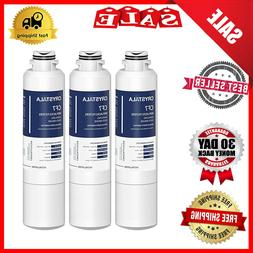 3 Pack Water Filter Replacement Samsung RF28HMEDBSR, RF28HME