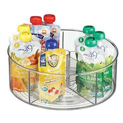 Divided Lazy Susan Turntable Storage Container For Kitchen C