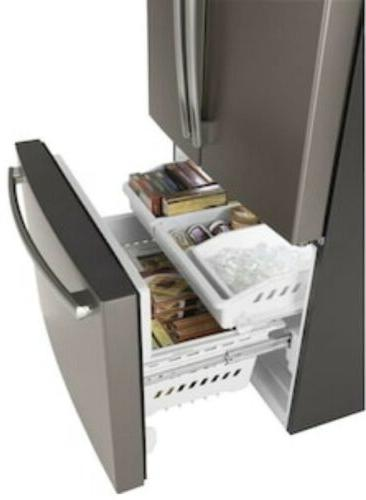 GE GNE27JMMES Slate French Door With Ice Maker