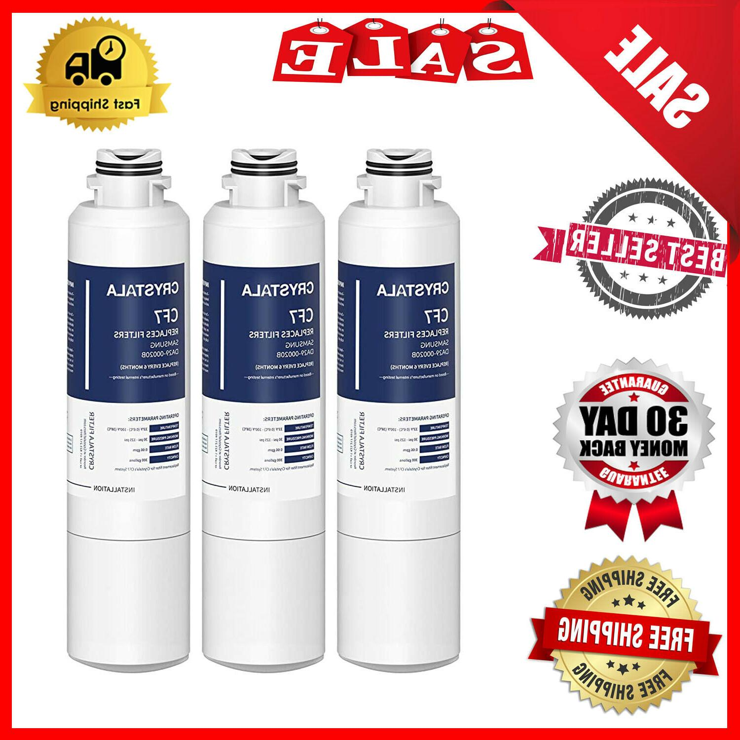 3 pack water filter replacement samsung rf28hmedbsr