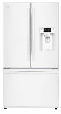 Kenmore 73032 25.5 cu. ft. French Door Refrigerator - White