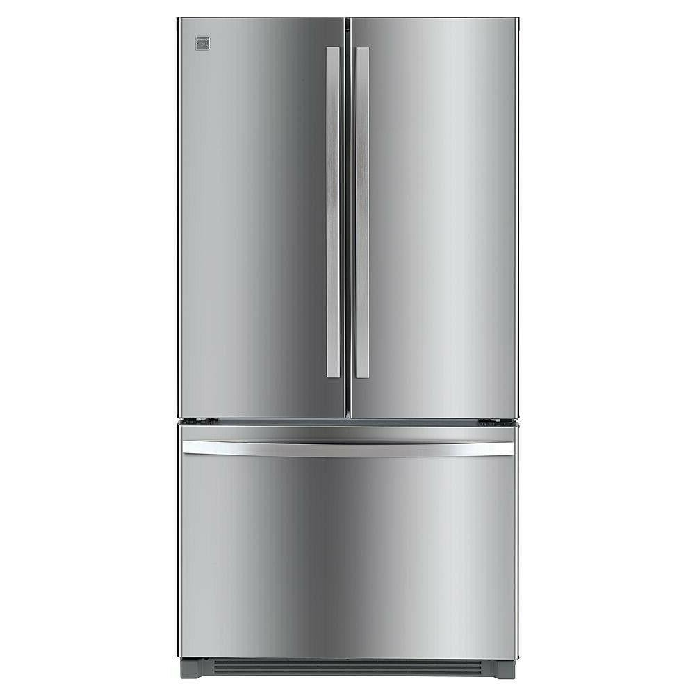 Kenmore ft. French Refrigerator w/ Stainless Steel