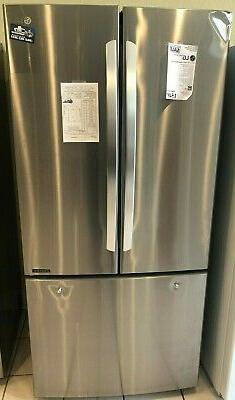 New Open Box LG 33 in. W 25 cu. ft. French Door Refrigerator