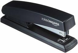 AmazonBasics Office Stapler with 1000 Staples - Black, 16-Pa