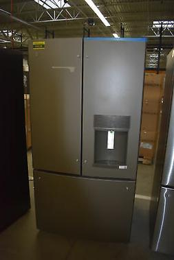 "GE Profile  PFE28KMKES 36"" Slate French Door Refrigerator NO"