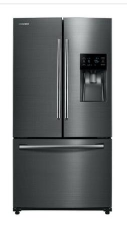 Samsung RF263TEAESG25 cu ft French Door with Water  & Dual I